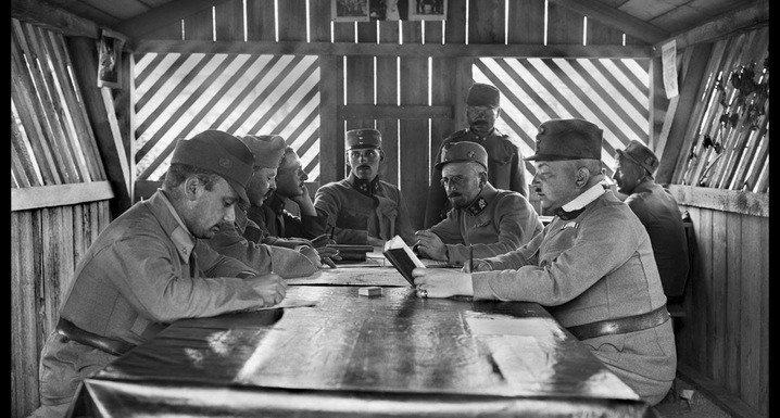 Gustav Brož   Officer's Meeting.